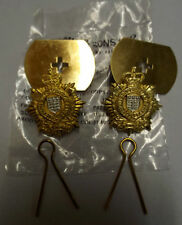 BRITISH ARMY ROYAL LOGISTIC CORPS COLLAR BADGES NEW!!