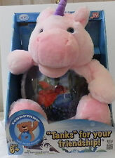 Teddy Tank Magical Unicorn Fish Tank Bank Snack Coin Holder As Seen on TV - NIB