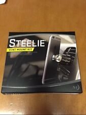 STEELIE CELL PHONE CAR VENT MOUNT KIT IPHONE GALAXYS UBER GPS LIFEPROOF STVK11R8