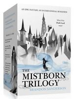 Brandon Sanderson Mistborn Trilogy 3 Books BOX Gift Set Collection
