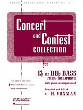 Concert and Contest Collection for Bass Tuba B.C. Piano Accompaniment  004471820
