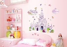 Wall Sticker Decal Romantic Princess Castle Home Decor Removable DIY NEW