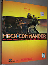 MECH COMMANDER (1998) PC Game MicroProse BIG BOX Complete FASA