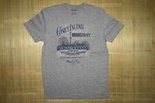 Men's Lucky Brand T-shirt Genuine Label Coney Island Vintage NY size MED Gray