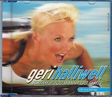 cd - SPICE GIRLS GERI HALLIWELL SCREAM IF YOU WANNA GO FASTER