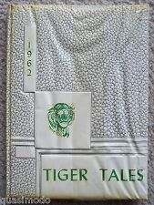 1962 LANCASTER HIGH SCHOOL YEAR BOOK LANCASTER, TEXAS TIGER TALES