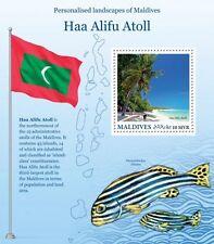 Z08 MLD16201b MALDIVES 2016 Haa Alifu Atoll MNH