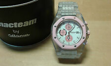 Usado - Reloj MACTEAM Chronograph -Rosa - Quartz - No funciona -  For Collectors