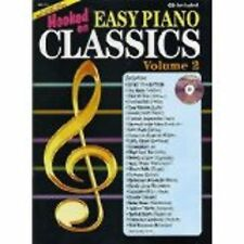 Hooked On Easy Piano Classics Volume 2 Book CD Sheet Music Grade 2-4 Pieces S68