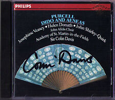 Colin DAVIS Signed PURCELL Dido & Aeneas CD Veasey Shirley-Quirk Thomas Allen