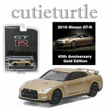 Greenlight 2016 Nissan GT-R 1:64 R35 45th Anniversary Collection 27850 F Gold