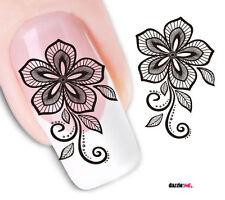 Nail Art de transferencia de agua Pegatina Adhesivos decorativos búhos calcomanías (DX1565)