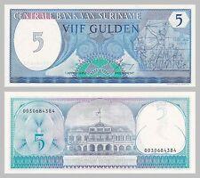 Surinam/suriname 5 florins 1982 p125 unz.