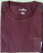 CARHARTT MEN'S  WORKWEAR POCKET T-SHIRT - PORT - M