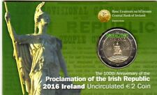 NEW !!! COIN CARD 2 EURO COMMEMORATIVO IRLANDA 2016 Rivolta di Pasqua NEW !!!