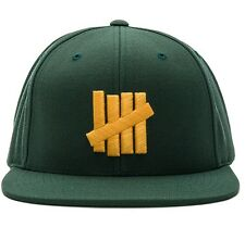 Undefeated 5 Strike Cool Hat Green/Yellow Adjustable NWT GB Packers Oakland A's