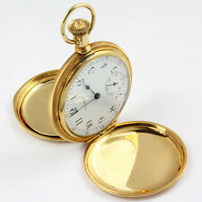 Stunning 16 Size Waltham Model 1908 in a crisp 14K Solid Gold Case circa 1918