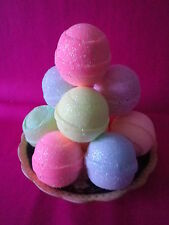 12   BLING  BATH BOMBS 10 FIZZY LUSH FRAGRANCES  ONLY 1 DAY SALE £12.99 BUY NOW