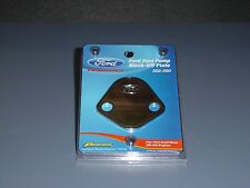 Proform 302-290 Ford Fuel Block Off Plate Ford Racing Logo