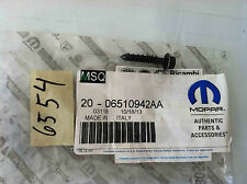 2014-2015 Fiat Mounting Air Cleaner Cover Screw OEM 06510942AA