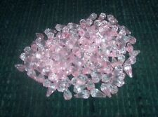 Pink Plastic Tear Drop Craft Beads - 100 Pcs.