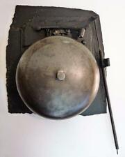 VINTAGE ANTIQUE BELL CAST IRON WALL MOUNT BOXING FIRE ALARM SHIP SCHOOL DINNER