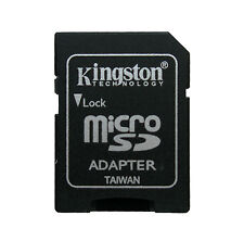 50 Uds Adaptador de Tarjetas KINGSTON MicroSD a SD Lector Grabador Pc Camara