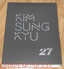 KIM SUNG KYU SUNGGYU INFINITE 27 2ND MINI ALBUM CD + PHOTOCARD & FOLDED POSTER