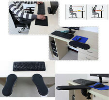 Adjustable Ergonomic Computer Desk Extender Arm Wrist Rest Support/ Mouse Pad