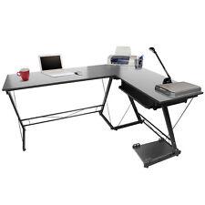 L Desk Tastiera stazione di computer della casa della mensola mobili per ufficio