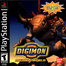 """Playstation One PS1 PSX DIGIMON WORLD 1 Box Cover Photo Poster Decor 8.5""""X11"""""""