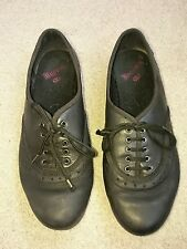 Girls childs Clarks black bootleg school leather shoes size 3.5 1/2 F