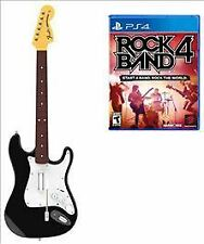 Rock Band 4 PS4 One Wireless Guitar Bundle Over 60 Tracks Shows Mode