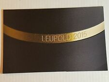 Leupold Tactical Products Catalog Booklet / 2015 / New / 70 Pages