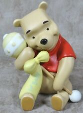 Disney's Winnie the Pooh & Friends Porcelain Figurine w/Rattle For Baby