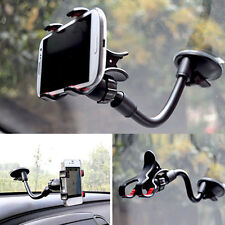 Universal 360° Car Windshield Mount Holder Bracket For Mobile Phone iPhone GPS