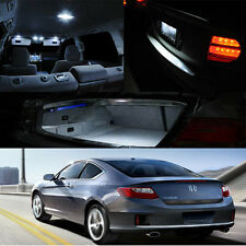 13-Up Accord Coupe V6 Interior LED HID Xenon Light Bulb Map Dome Door Trunk etc