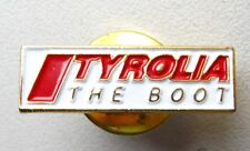 Médaille - pin's TYROLIA - The Boot - Chaussure ski -