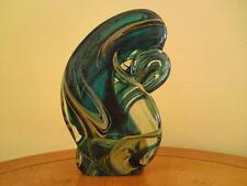 RARE ART GLASS free-formed SCULTURA FIRMATA Mdina eventualmente Michael Harris??
