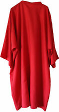 Dream Design Dolly Gown Cape With Sleeves for Hairdressing Salon Tie Neck