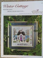 10% Off Victoria Sampler Counted X-stitch Chart - Winter Cottage