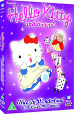 Hello Kitty and Friends - Alice in Wonderland - DVD - BRAND NEW SEALED