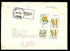 Yugoslavia 1982 Registered Cover To Germany #C7128