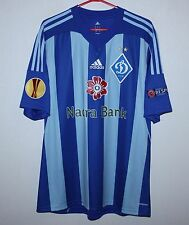 Dynamo Kiev Ukraine away match worn or issue shirt 2013 #22 Kravets Adidas