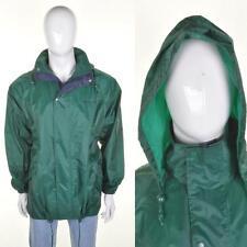 PETER STORM VTG 80s/90s Waterproof Jacket M Green Cagoul Cagoule Kagool Kagoule