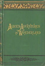 ALICE IN WONDERLAND-LEWIS CARROLL-1888-A BEAUTIFUL CLASSIC!