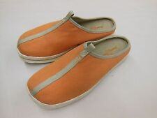 Tommy Bahama Cape Coral Flats Slides Slipper Shoes Sz 8 Mango Color Style TB-812