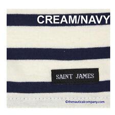 SAINT JAMES Ladies Nautical Breton Striped Scarf  St Women white/navy/cream/red