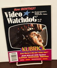 VIDEO WATCHDOG ISSUE #58 STANLEY KUBRICK-JEAN ROLLIN NM/MINT