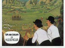 HERGE TINTIN ET LE TEMPLE DU SOLEIL 1969 VINTAGE LOBBY CARD ORIGINAL #19